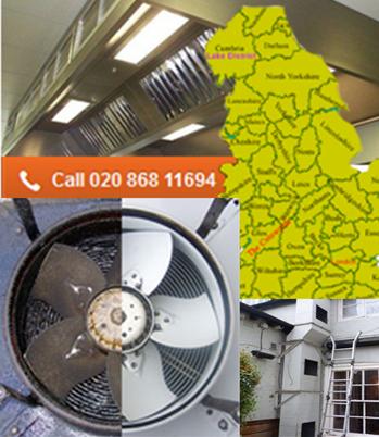 canopy fan cleaning London & England